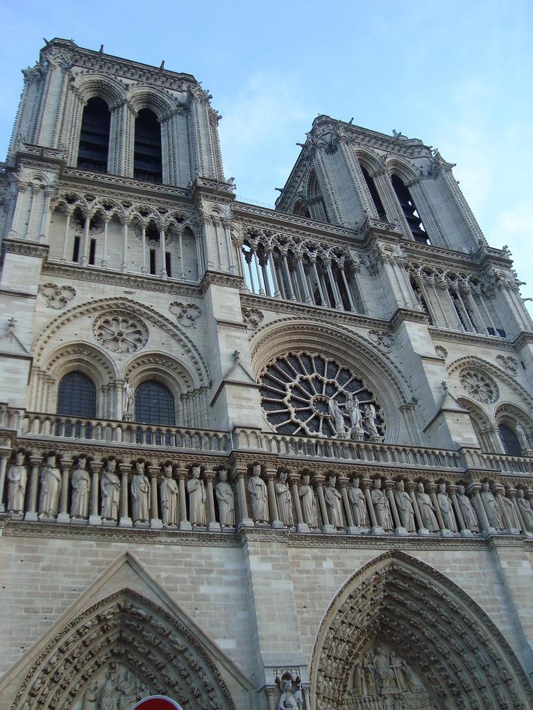Our lady paris france, architecture buildings.