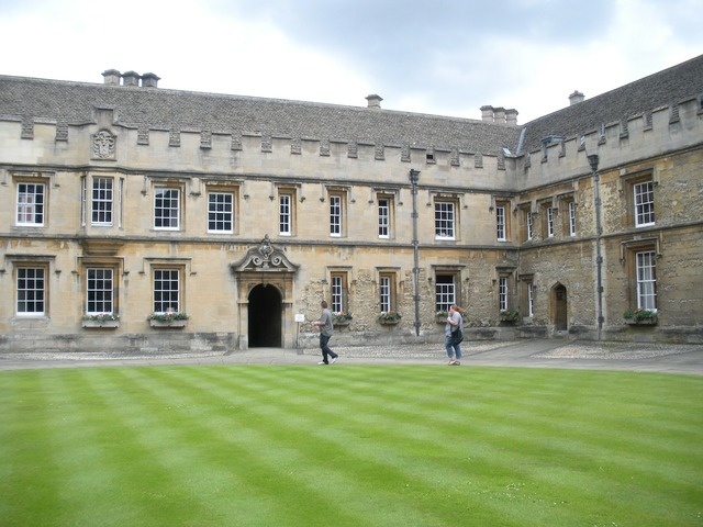 Oxford college christchurch college england, architecture buildings.