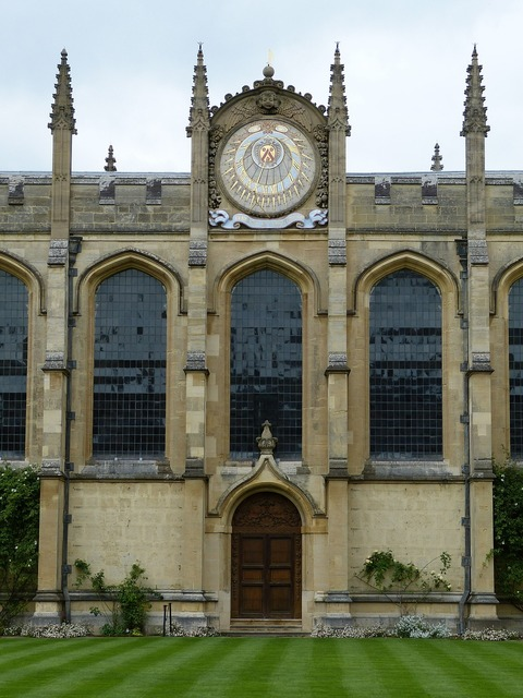 Oxford college england, architecture buildings.