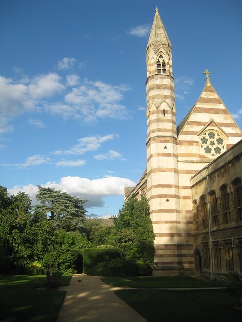 Oxford england tower.