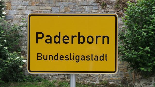 Paderborn city scp, architecture buildings.
