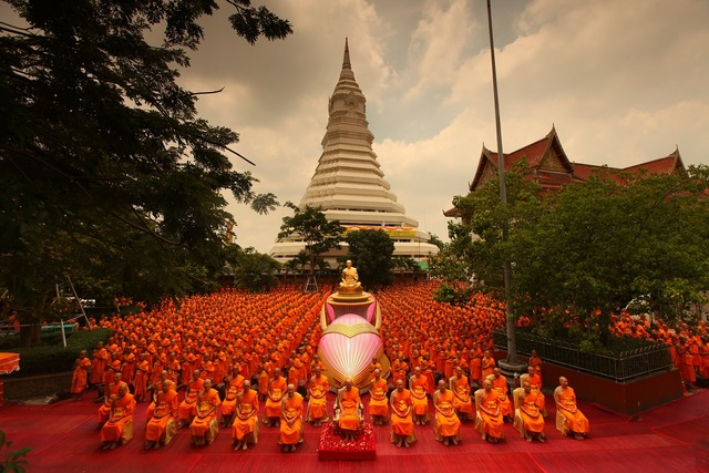 Pagoda supreme patriarch buddhists, religion.