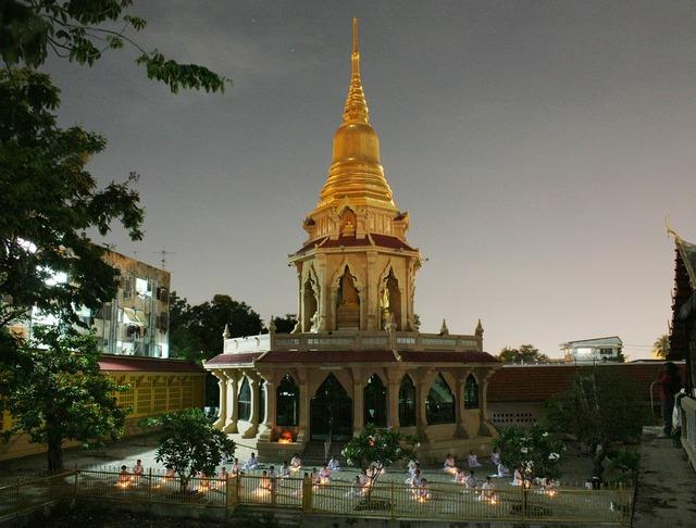 Pagoda thailand buddhists, religion.