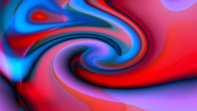Paint flow colors, nature landscapes.
