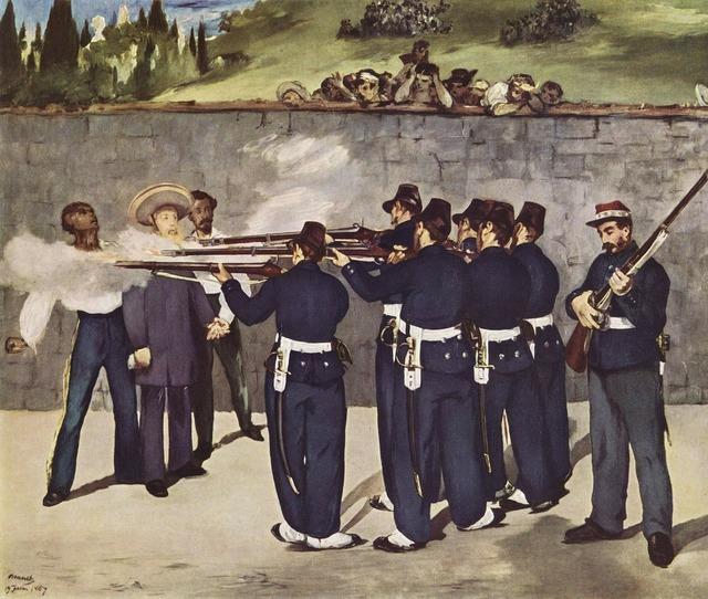 Painting execution firing.