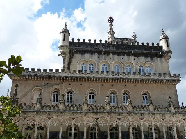 Palace castle architecture, architecture buildings.