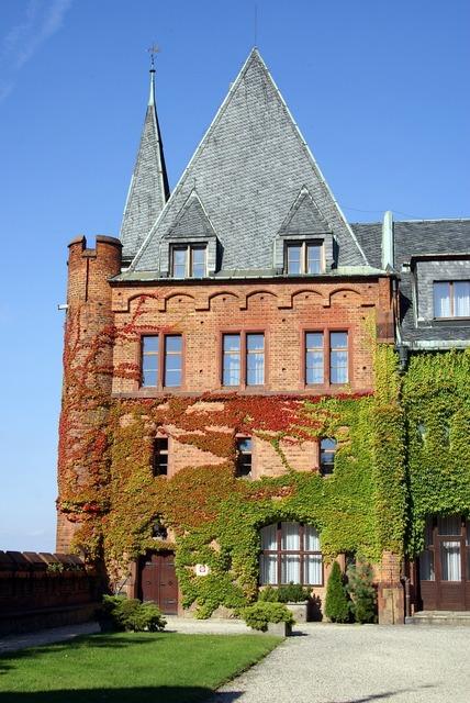 Palace castle bricks.