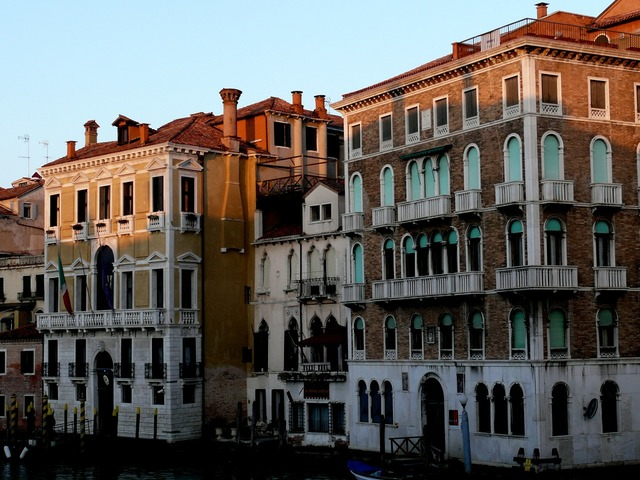 Palace houses channel.