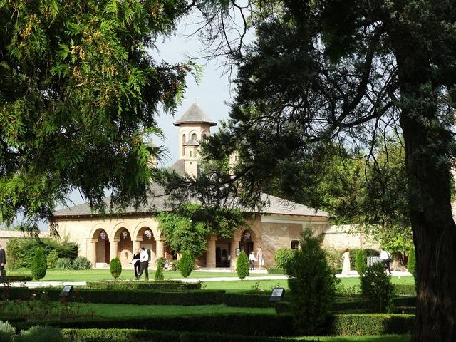 Palace mogosoaia park castle.