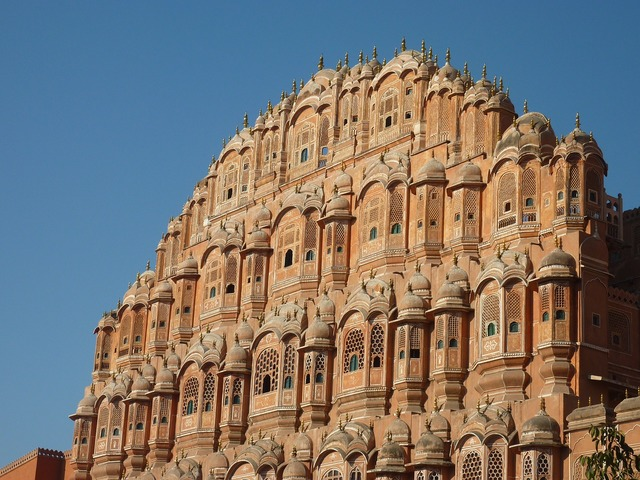 Palace of winds jaipur rajasthan.