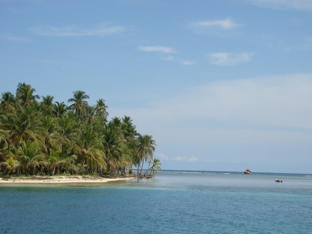 Panama central america archipelago, nature landscapes.
