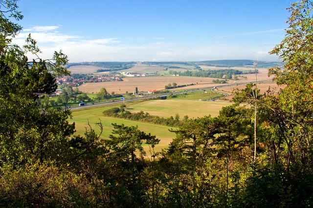 Panorama landscape distant view, nature landscapes.
