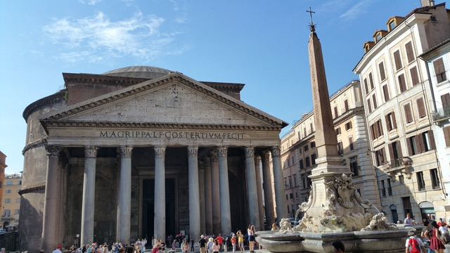 Pantheon rome italy, architecture buildings.