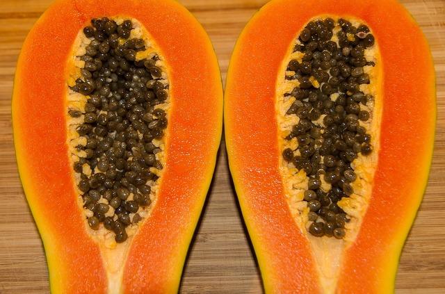 Papaya red papaya fruit, food drink.