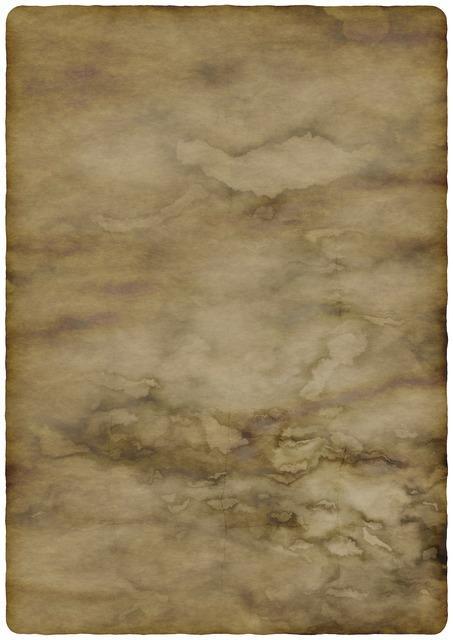 Paper parchment worn, backgrounds textures.