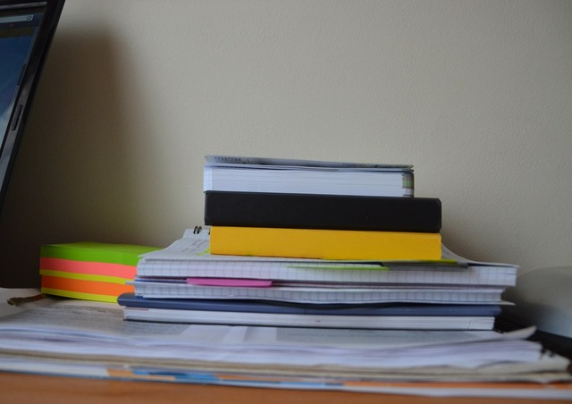 Papers supplies notebooks, industry craft.