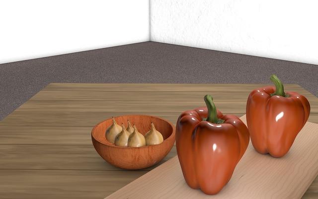 Paprika onions vegan, food drink.
