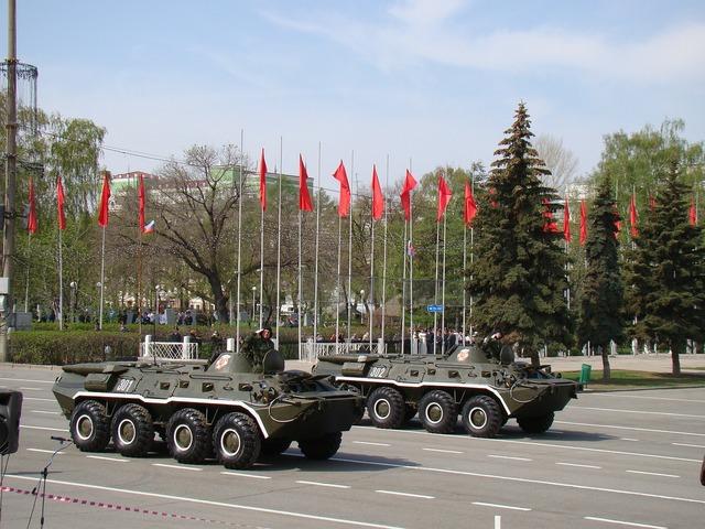 Parade victory day samara.