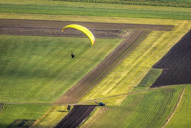 Paraglider fly paragliding, sports.
