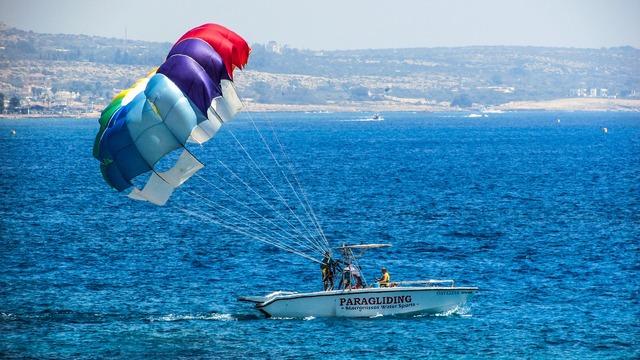 Paragliding sport extreme, sports.
