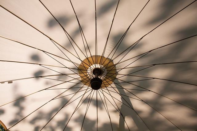 Parasol screen sun.