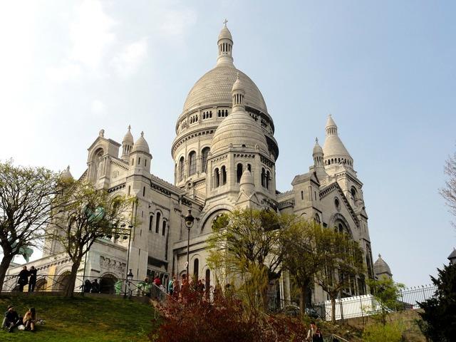 Paris basilica sacré coeur, religion.