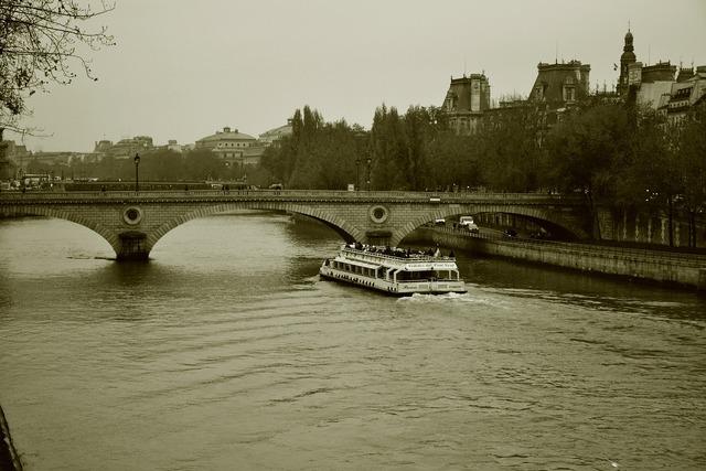 Paris bridge architecture, architecture buildings.
