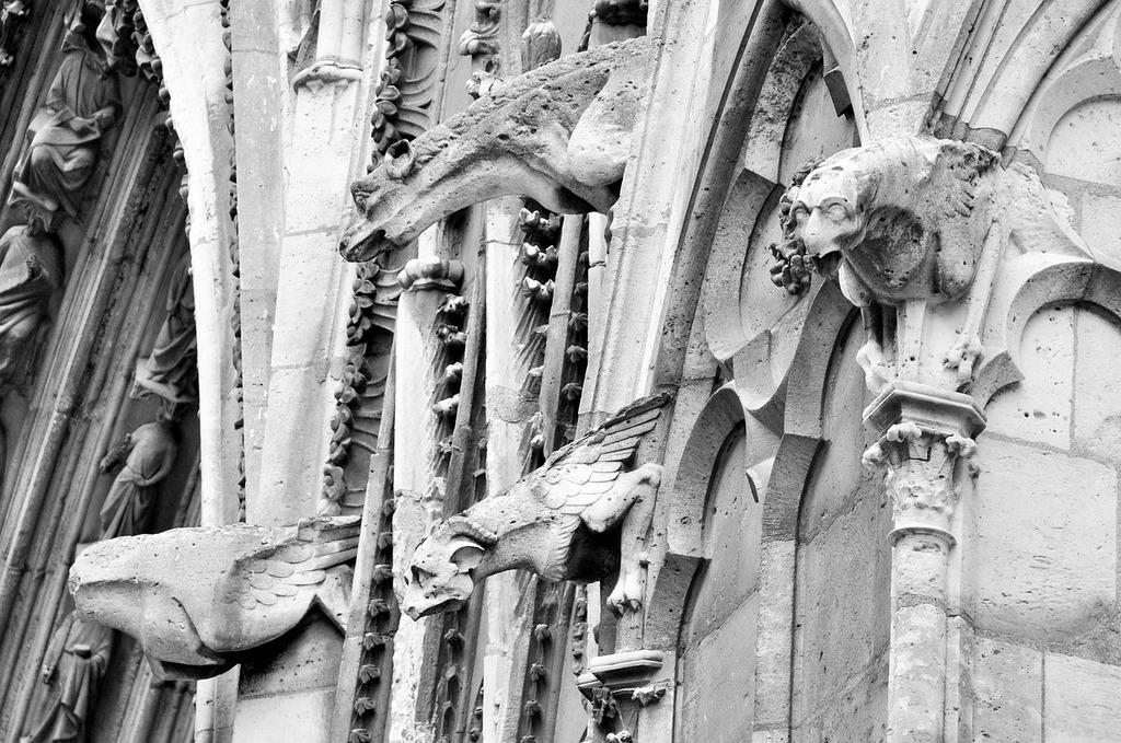 Paris cathedral notre-dame, architecture buildings.