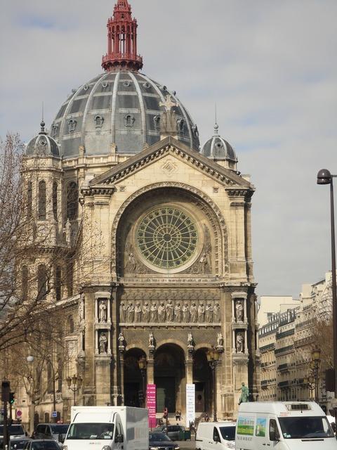 Paris church france, religion.