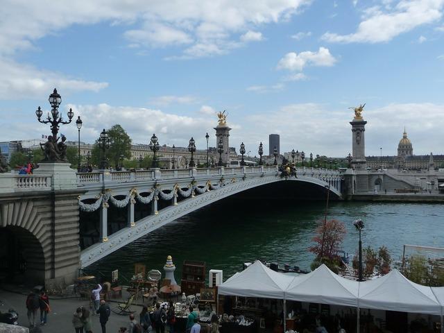 Paris france bridge.