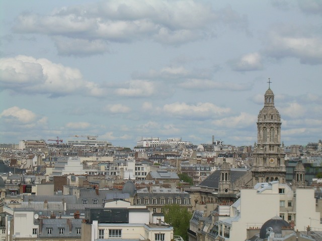 Paris france cityscape.