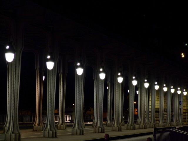 Paris france evening, transportation traffic.