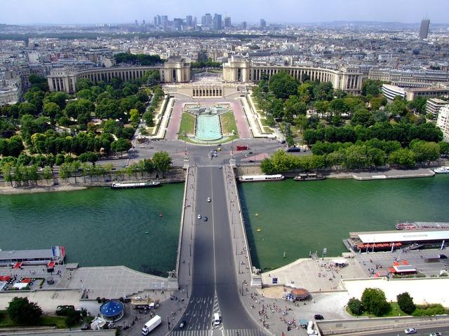 Paris france landscape, nature landscapes.