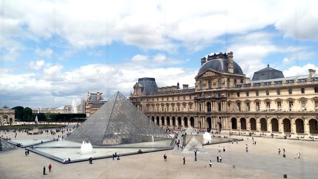 Paris france louvre louvre museum.