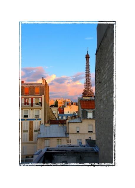 Paris france morning.