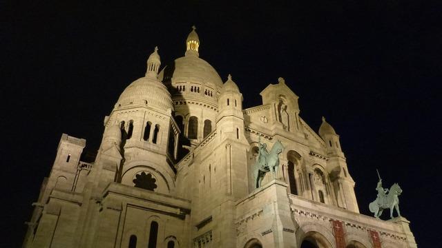Paris france sacré coeur, religion.