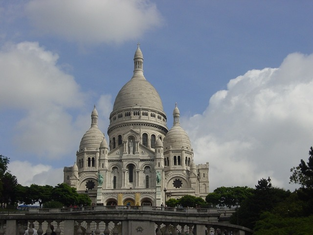 Paris france sacre, religion.