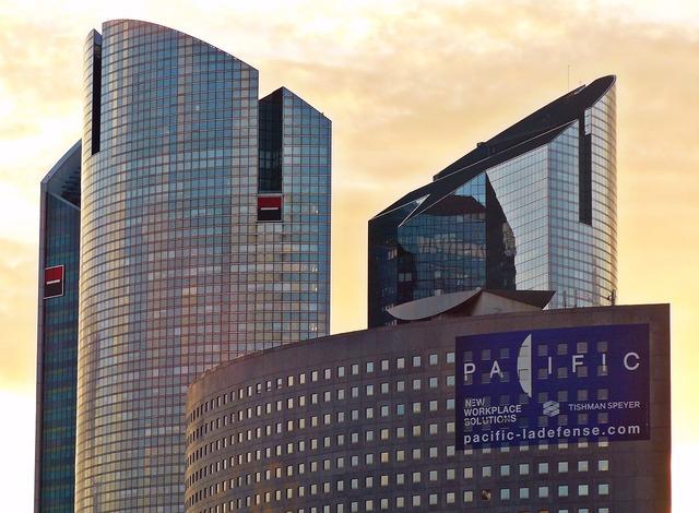 Paris la defense architecture, architecture buildings.