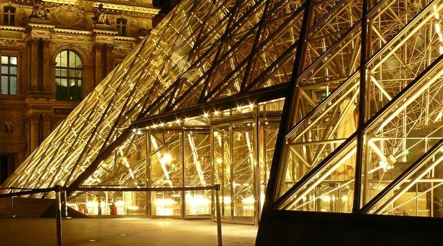 Paris louvre france, architecture buildings.