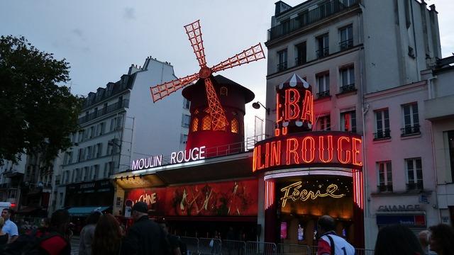 Paris moulin rouge pleasure.