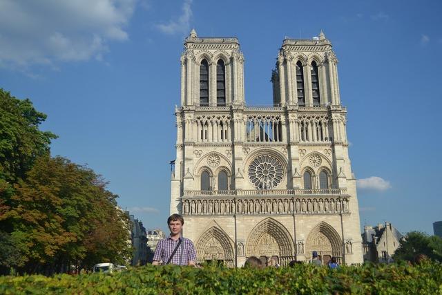 Paris notredame summer.