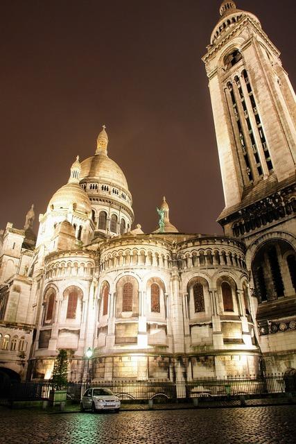 Paris sacre coeur church, religion.