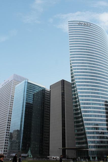 Paris skyscraper architecture, architecture buildings.