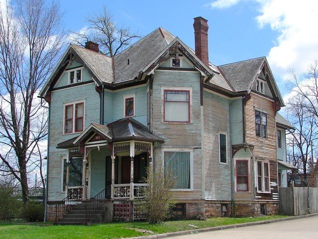 Park avenue west mansfield ohio, architecture buildings.
