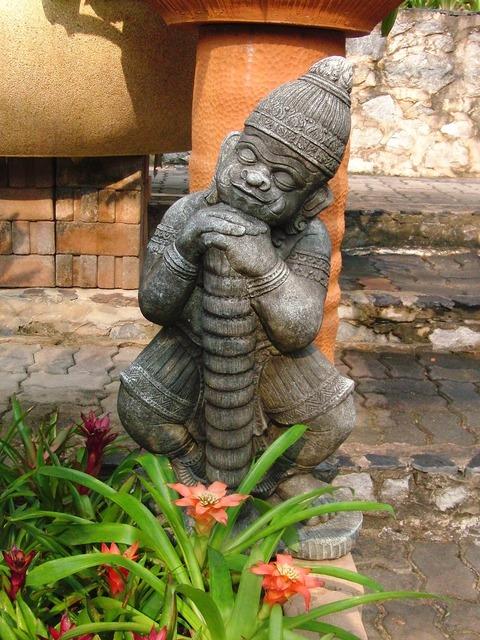 Park sculpture sculpture china, travel vacation.