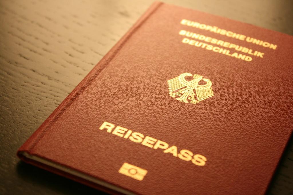 Passport document germany.