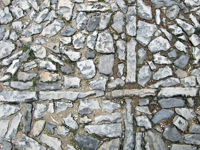 Patch stones paving stones, backgrounds textures.