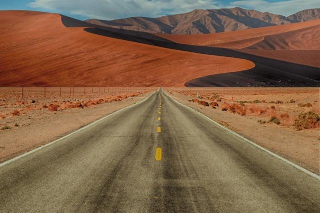 Path wilderness dune.