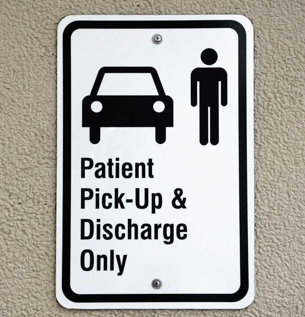 Patient pickup sign symbol hospital, health medical.