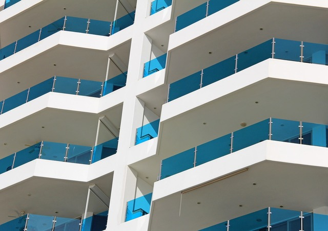 Patterns modern building, architecture buildings.